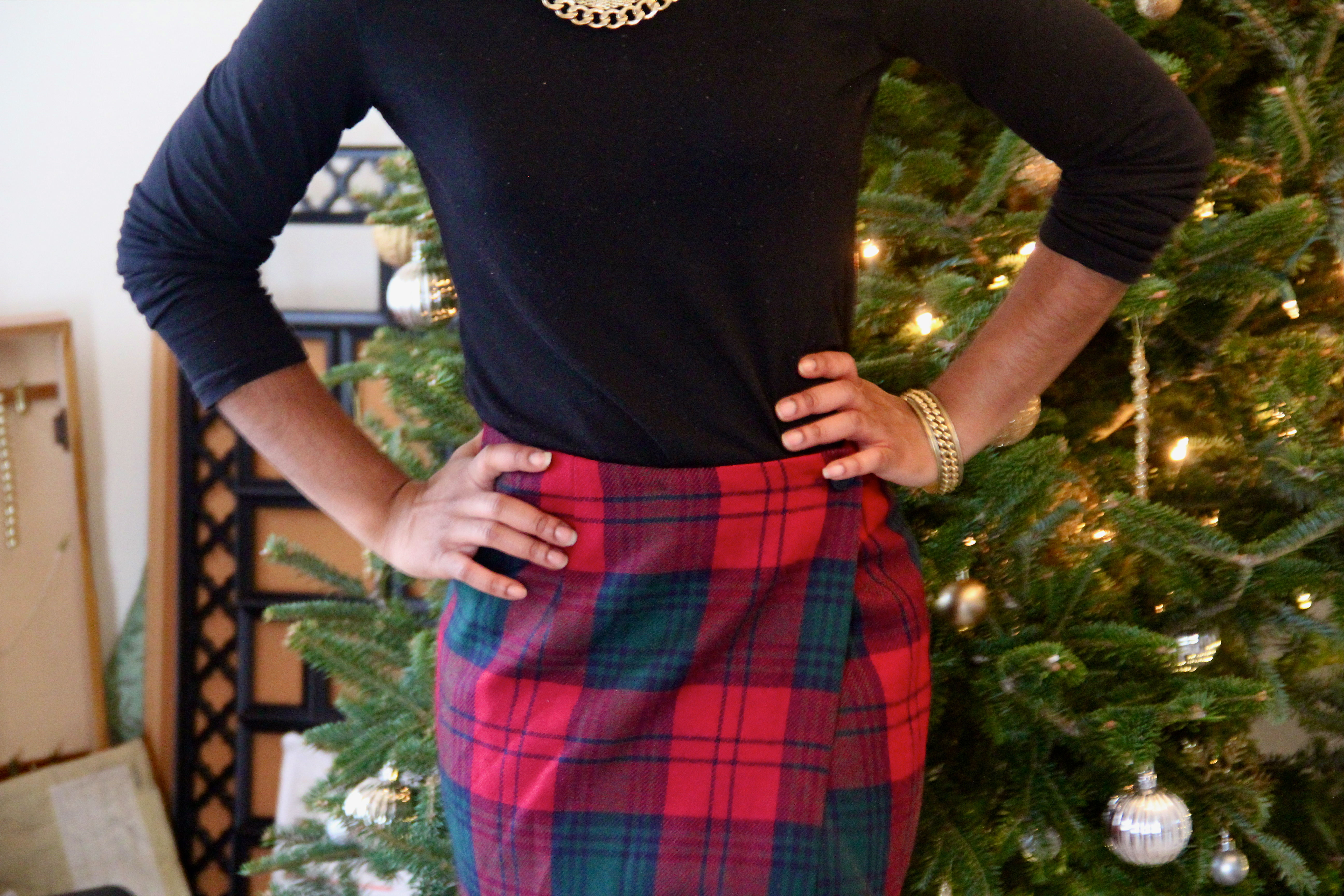 6fd9d3f1ce9e It makes the skirt that much more festive! & I love a good situational  outfit ...